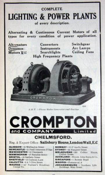Cg Electric Motors History Crompton Greaves Electric