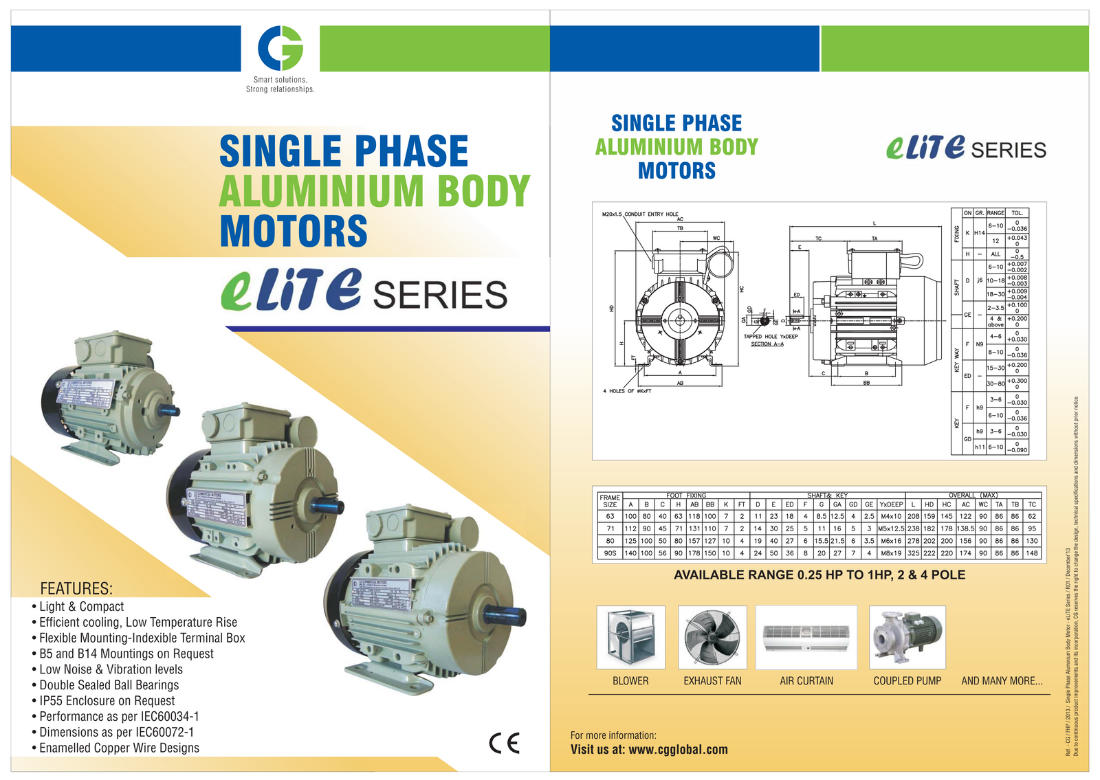 CG Elite Series Electric Motors