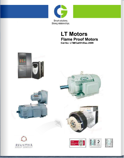 CG Electric Motors-Flame Proof Motors