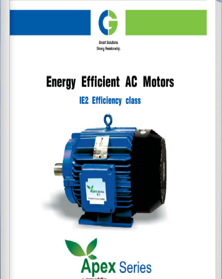 CG Energy Efficient IE2 Electric Motors
