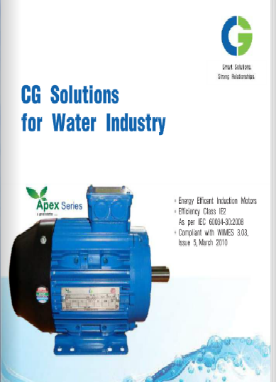 CG Electric Motors-Water Industry