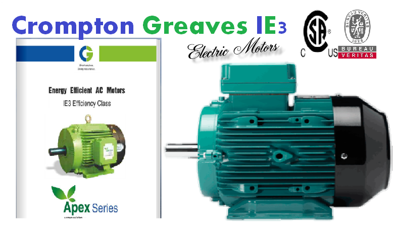 New Crompton Greaves IE3 Catalogue
