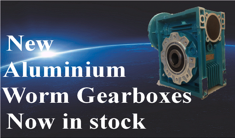New-Aluminium Worm Gearboxes